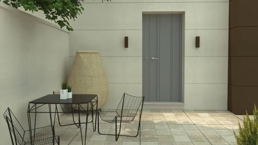 001 - Exterior render, Minimal House