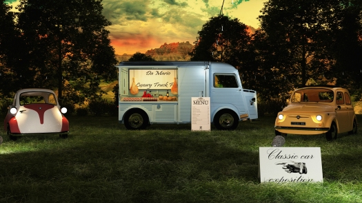 002 - Exterior render, Citroën Food Truck 2